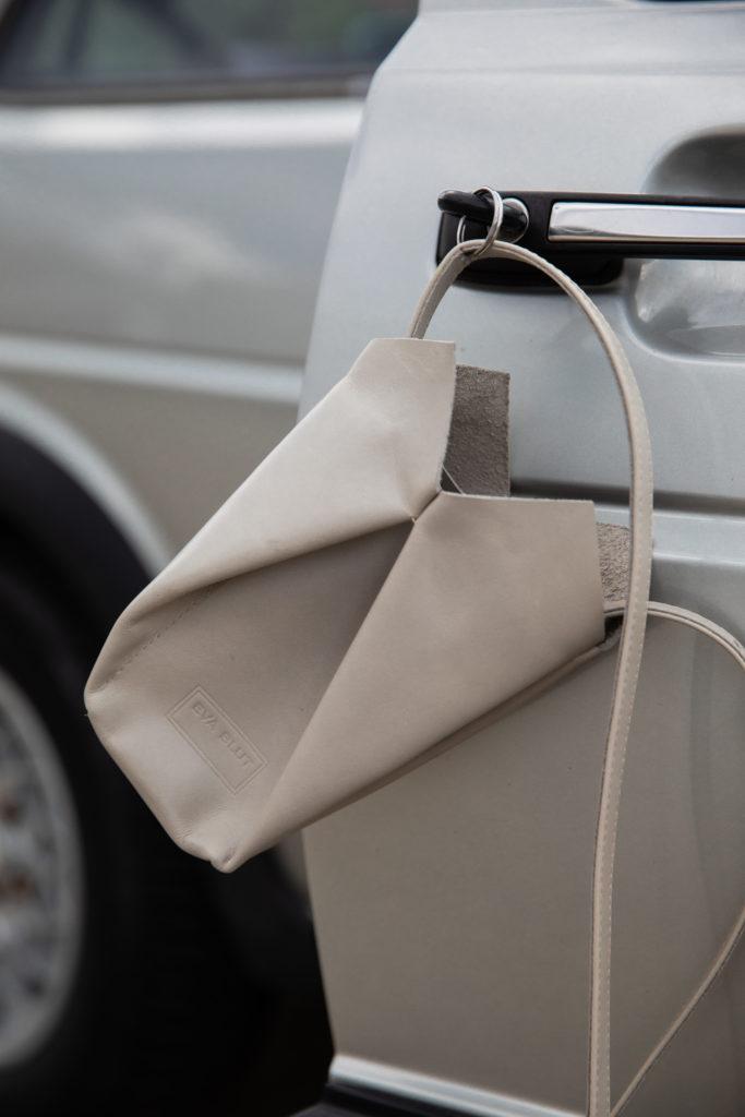 eva blut, versatile bags, vienna fashion designer, car, design studio branding, phtotography, atelier nova